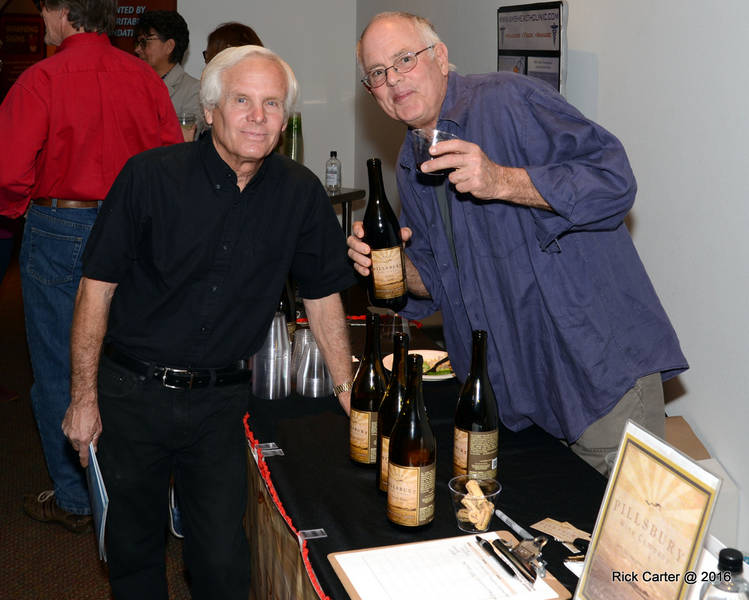 Winemaker and former film director Sam Pillsbury knows how to party, and at a recent Green Living soiree, he shared an award-winning wine. I cheered him and the magazine. Who else can we cheers?