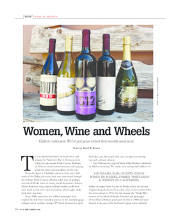 Women, Wine and Wheels