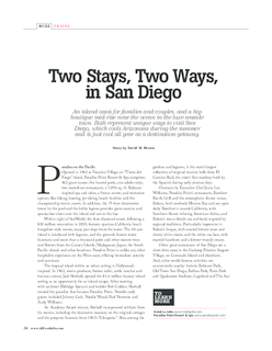 Two Stays, Two Ways in San Diego
