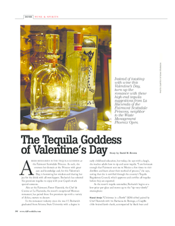 The Tequila Goddess at Valentine's Day