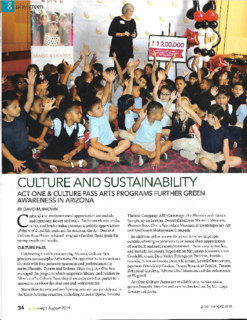 Culture and Sustainability