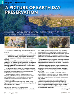 McDowell Sonoran Preserve: A Picture of Preservation