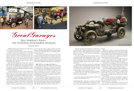 Bill Harrah's Rides: The National Automobile Museum