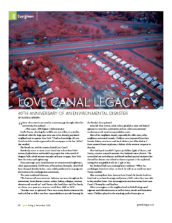 Love Canal Legacy