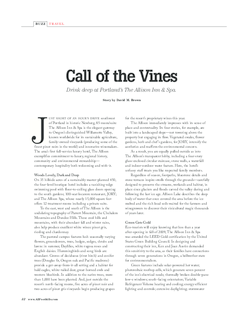 Call of the Vines