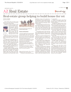 Real-estate Group Helps Build House for Vet